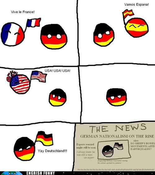 deutschland france Germany nationalism Spain usa