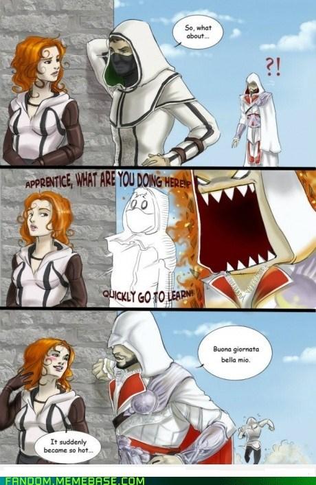 apprentice assassins creed Fan Art Memes video games - 6167916544