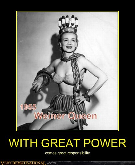 great power hilarious queen weiner - 6168560384