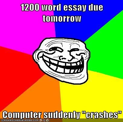 1200 word essay