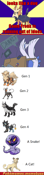 all the gens,doesnt matter,dogs,Game Freak,the internets