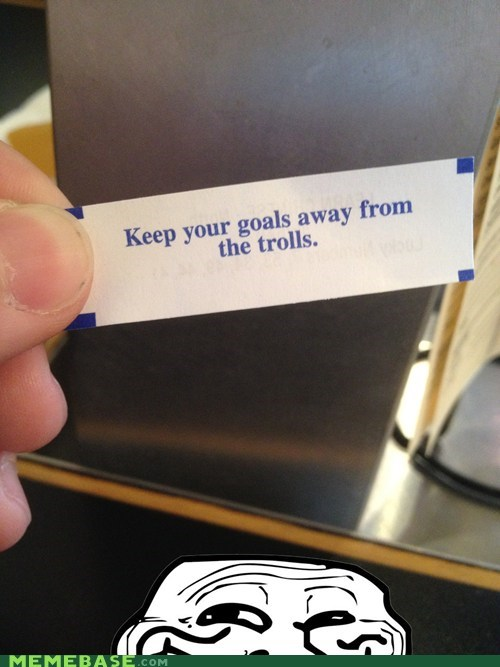 chinese fortune cookie takeout troll face trolling