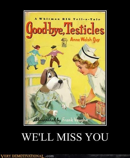 dogs hilarious neutered unfortunately - 6169489920