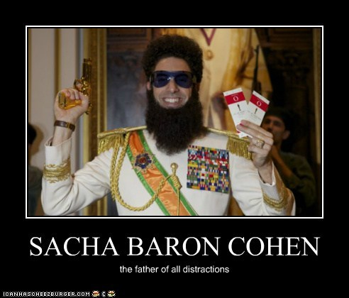 actor,celeb,demotivational,funny,sacha baron cohen
