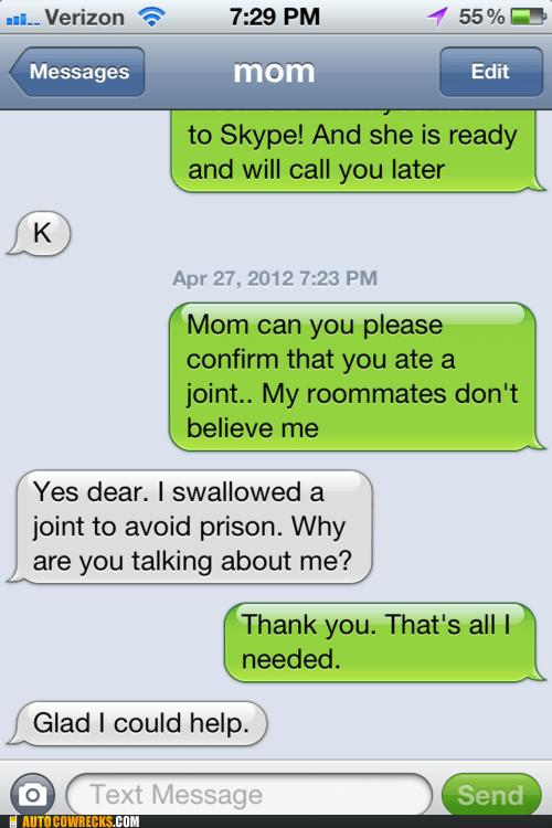 marijuana mom parenting prison texting weed - 6170126336