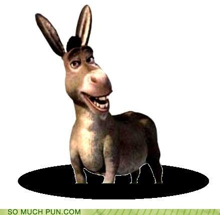 ass donkey double meaning hole literalism shrek
