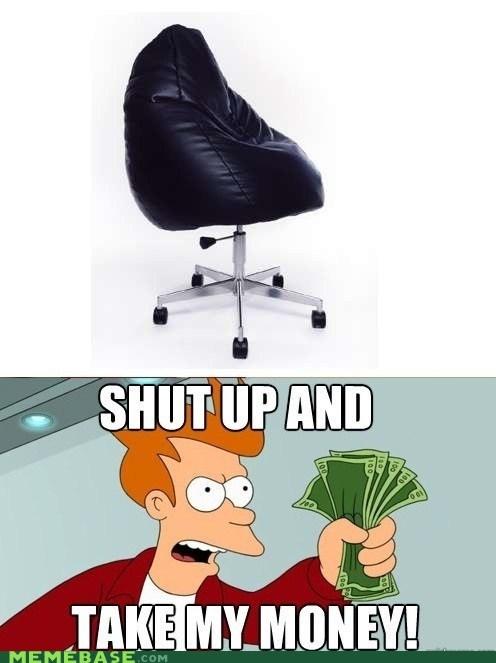 chair take my money comfy - 6170763776
