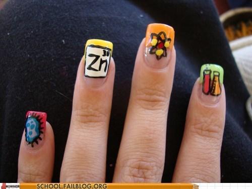 fingernails manicure nail painting science - 6170905344