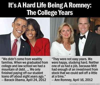 Mitt Romney obama Photo politics student loans - 6171852288