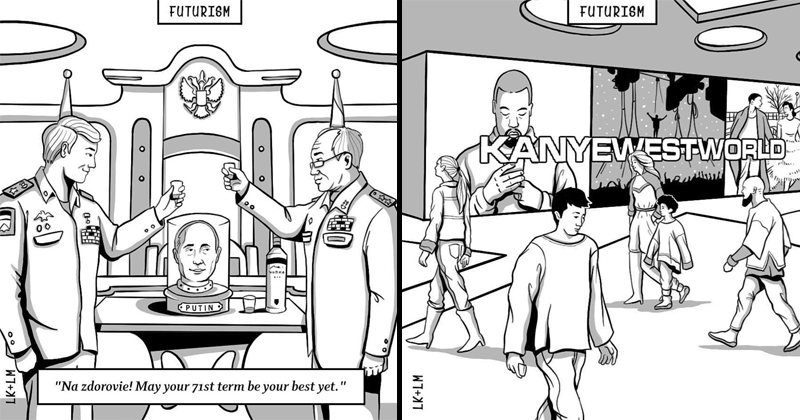 Memes bleak web comics technology kanye west future Vladimir Putin - 6172165
