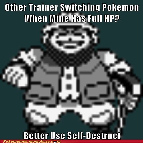 geodude,hiker,Memes,rock types,self destruct