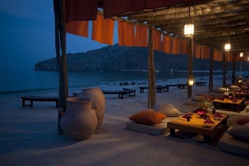 beach,oman,resort