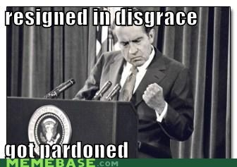 pardons,nixon,president,success kid