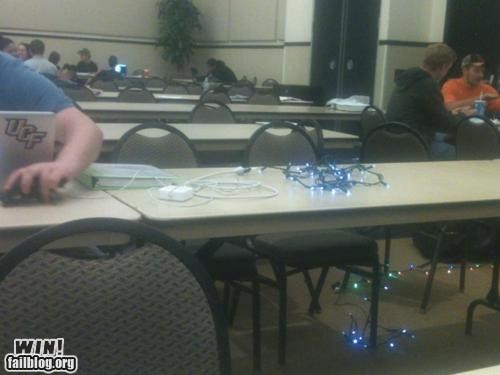 extension cord lights University of Central Florida
