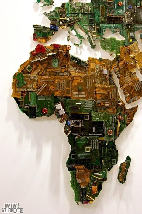 art circuit board worldly - 6173520128