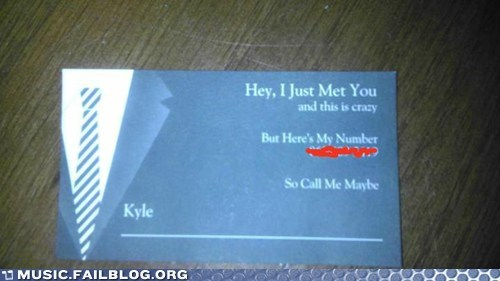 call me maybe card carly rae jepsen dating number - 6173574912