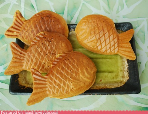 cakes epicute fish pastries taiyaki - 6174681088