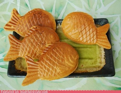 cakes epicute fish pastries - 6174681088
