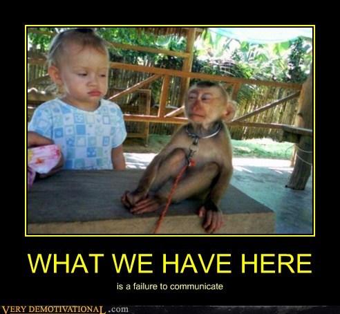 baby communicate hilarious monkey - 6175043840