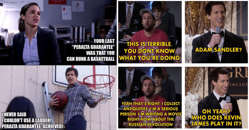 Funny memes and moments from brooklyn nine nine.