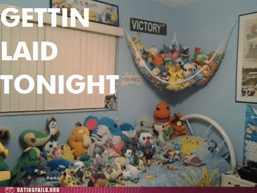getting laid tonight,in my bed,stuffed animals