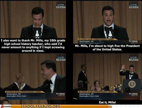 Hall of Fame jimmy kimmel obama - 6175762432