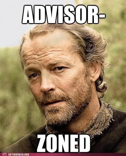 advisor-zoned Game of Thrones george r r martin jorah mormont - 6175790336