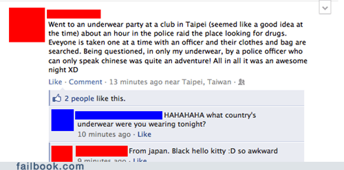 Taiwan,underwear party,drug raids,police