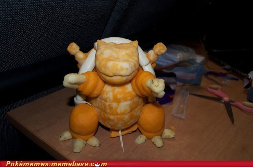 Blastoise Made of Cheese