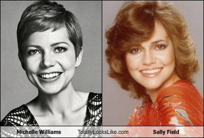 actor,celeb,funny,Michelle Williams,sally field,TLL