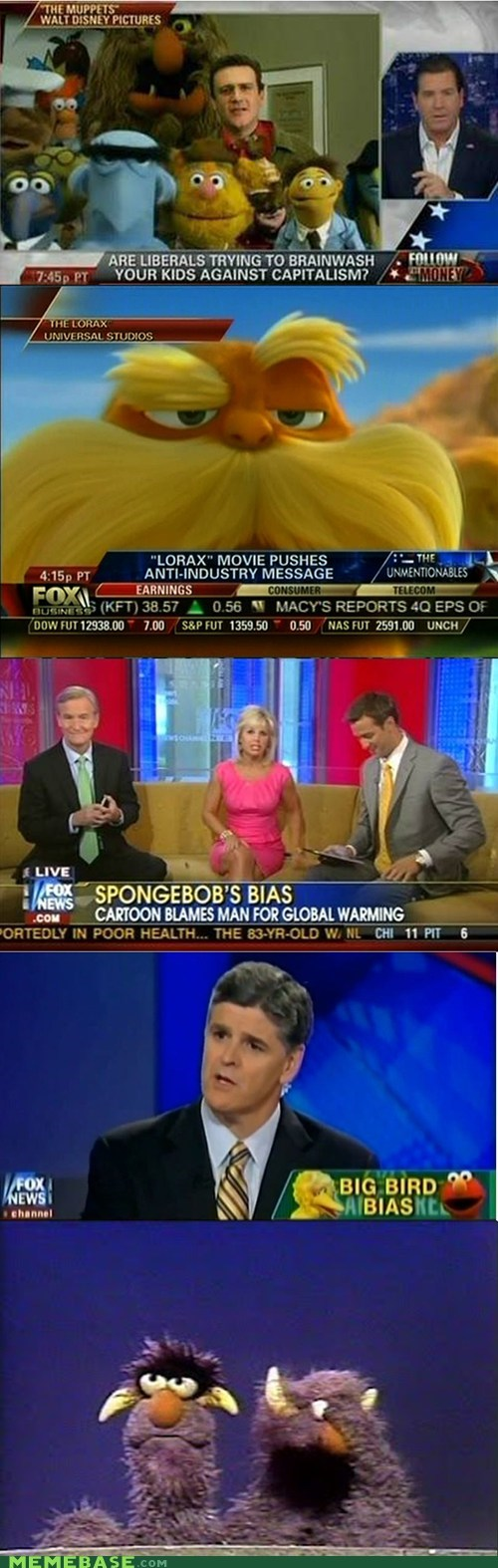 childish facepalm fox news muppets politics TV - 6175990272