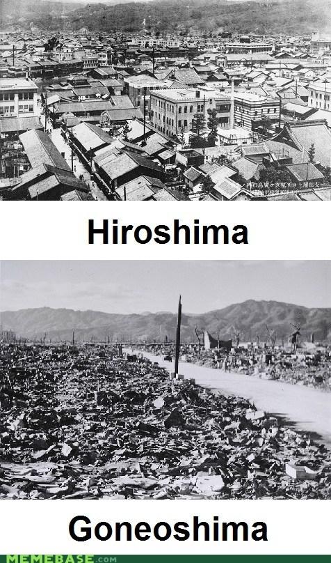 gone,here,hiroshima,Japan,Memes