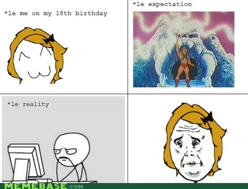 birthday,he man,Okay,Rage Comics,Sad