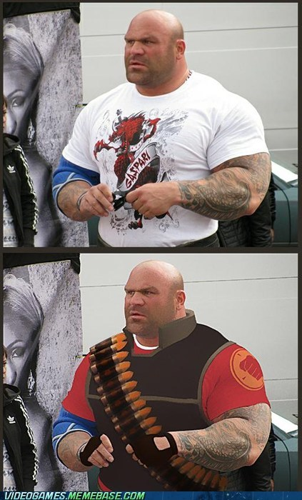 heavy,shopped,Team Fortress 2,the internets