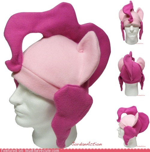 cosplay,fleece,hat,mlpfim,pinkie pie