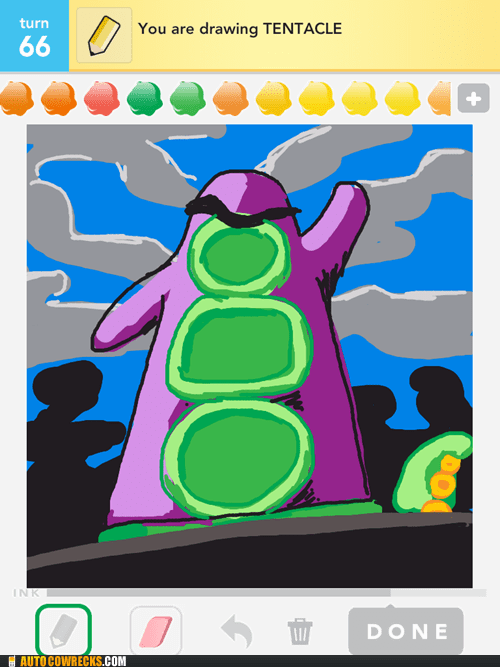 draw something,stylus,tentacle