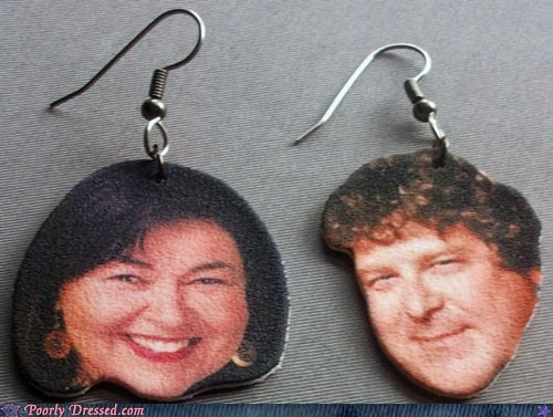 90s earrings pop culture roseanne what - 6177266176