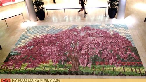 art cupcakes frosting impressive mosaic - 6177304320