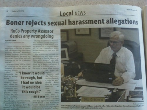allegations boner Probably bad News sexual harassment - 6177385216
