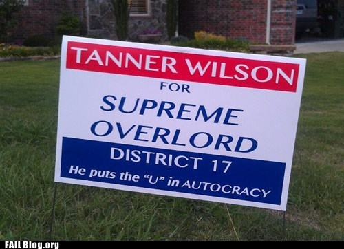 political,political campaign,tanner wilson,yard sign