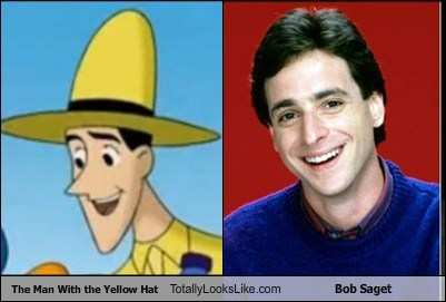actor,bob saget,funny,man,yellow hat