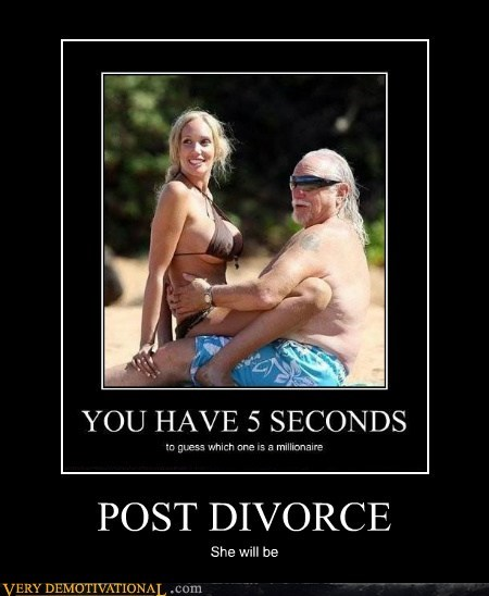 POST DIVORCE She will be