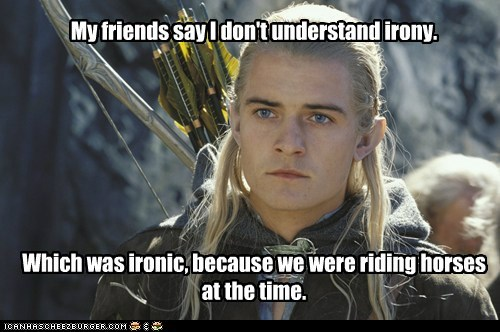confused,dont-understand,horses,irony,legolas,Lord of the Rings,orlando bloom