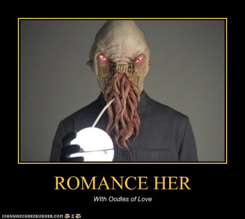 ROMANCE HER WIth Oodles of Love