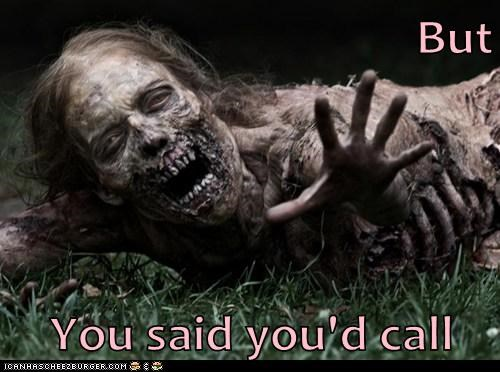call morning after one night stand ugly The Walking Dead zombie - 6178592000