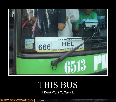 bad idea bus hell hilarious wtf - 6178811648