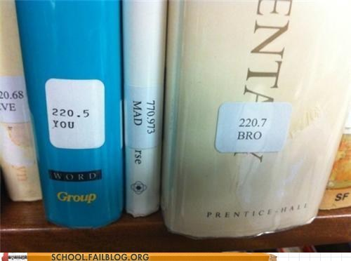 library school troll u mad bro you mad bro