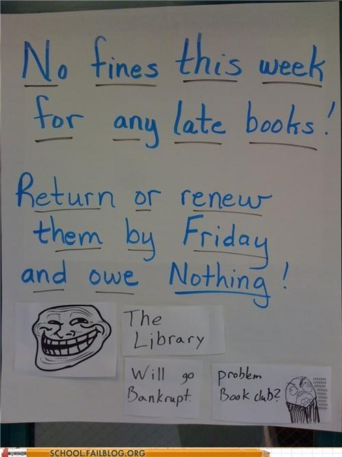 late fees library library troll no fines - 6179038720
