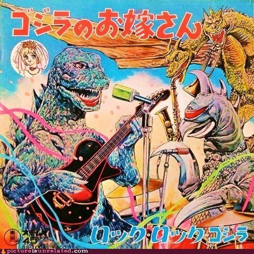 band,destroy,godzilla,Japan,Music,wtf
