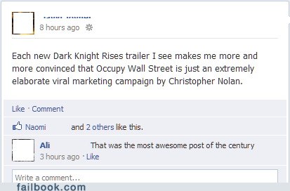batman christopher nolan dark night rises movies Occupy Wall Street the dark night rises - 6179153664